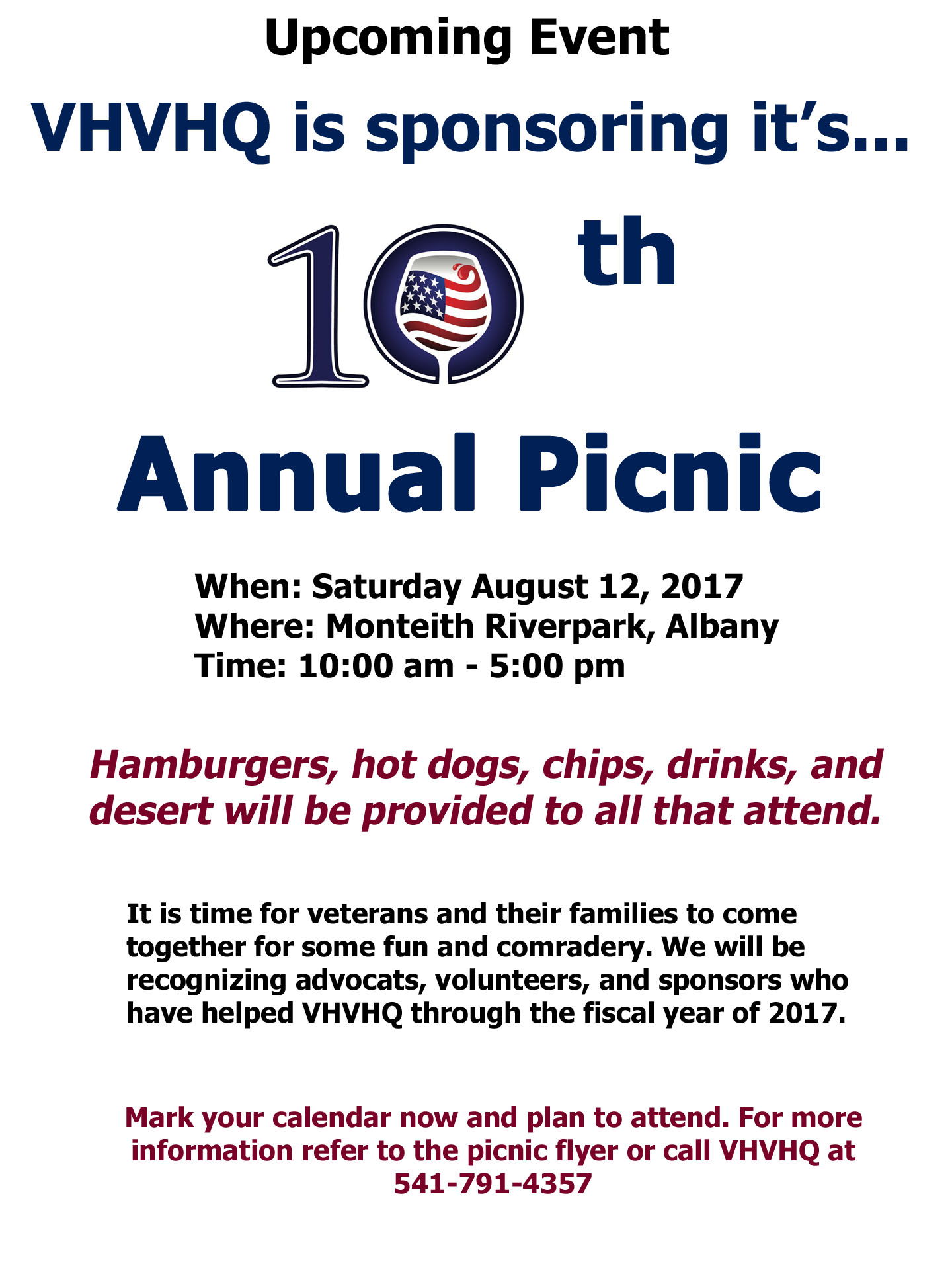 10th Annual Picnic
