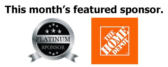 Platinum Sponsor Home Depot