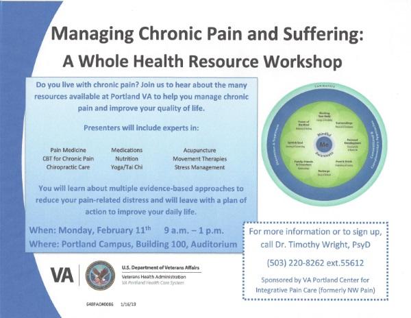 VA Pain Workshop